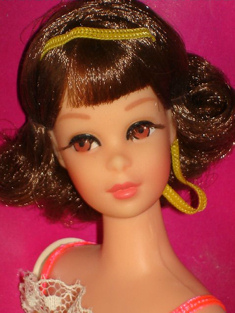 1970 Twist and Turn Francie Doll