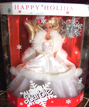 1989 Holiday Barbie