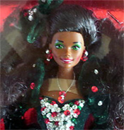 1991 Barbie Happy Holiday afroamericano