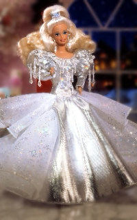 1992 Holiday muñeca Barbie