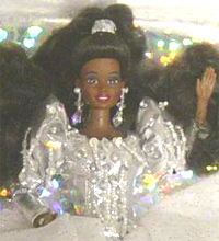 African American 1992 Holiday Barbie Doll