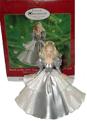 2000 1992 Happy Holidays Barbie (Collectors Club Edition)