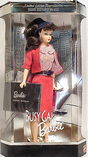 1995 Busy Gal Vintage Barbie Reproduction