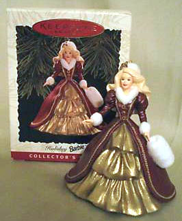1996 Holiday Barbie Ornament