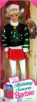 1996 Holiday Season Barbie