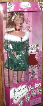 1998 Festive Season Barbie