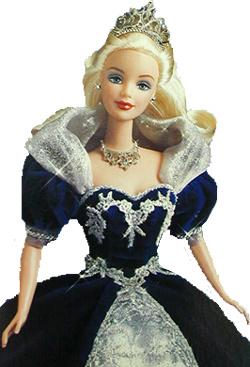 1999 del Milenio de Barbie Princesa