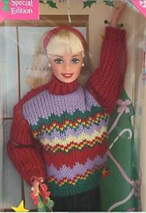 1999 Tree Trimming Barbie