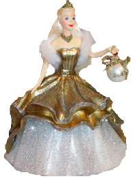 2000 Celebration Barbie Hallmark ornament