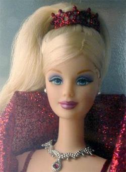2002 Holiday Barbie