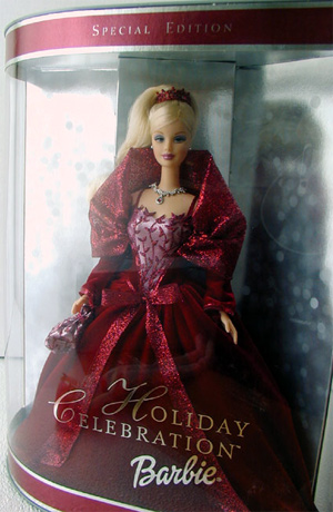 2002 Holiday Celebration Barbie