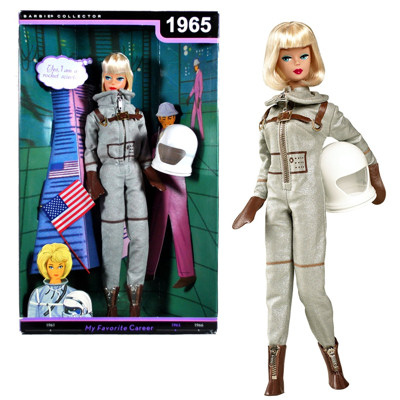 2010 Barbie Miss Astronaut Vintage Reproduction