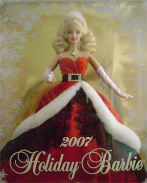 2007 Holiday Barbie