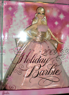 2009 Holiday barbie NRFB
