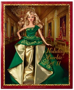 2011 Holiday Barbie NRFB