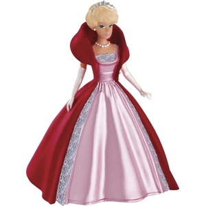 2013 1963 Sophisticated Lady Barbie Ornament