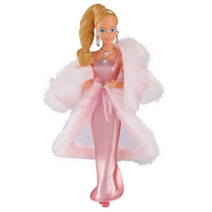 2013 1991 Pink and Pretty Barbie Ornament