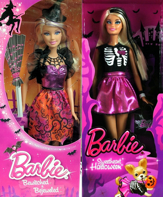 2013 Halloween Barbie Dolls