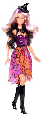 2013 Bewitched & BeJeweled Halloween Barbie