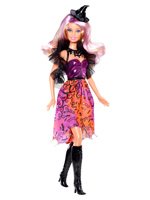 2013 Bewitched & Bejewled Halloween Barbie