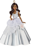2013 African American Holiday Barbie Ornament