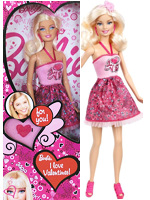 2013 I Love Valentines Barbie