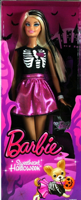 2013 Target Halloween Sweetheart Barbie Doll