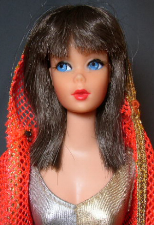 Vintage Dramatic New Living Barbie Doll