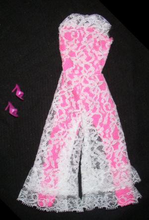 Vintage Barbie Jump Into Lace