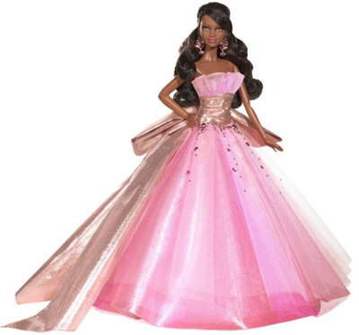 2009 African-American Holiday Barbie