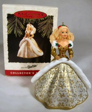 1994 Holiday Barbie Hallmark Ornament