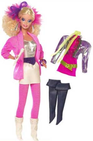 Barbie Fashion Dolls on Reproductions Barbie And The Rockers Barbie And The Rockers