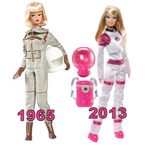 Barbie's Space Careers - 1965 to 2013