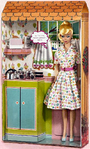 Barbie Learns To Cook Vintage Reproduction