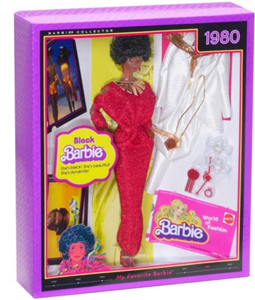 Black Barbie Reproduction NRFB