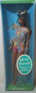 Black Francie Doll NRFB
