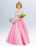 Campus Sweetheart Barbie Ornament