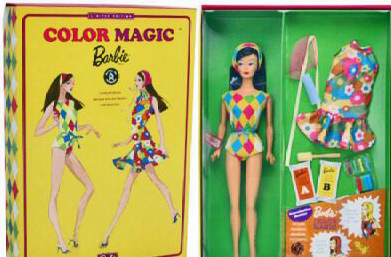 Color Magic Vintage Barbie Reproduction