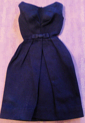 Campus Belle Barbie Dress - Rare Dark Blue Variation
