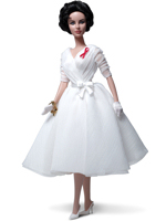 Elizabeth Taylor White Diamonds 2012 Silkstone Barbie