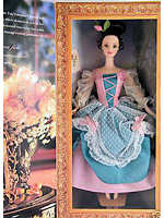 1997 Fair Valentine Barbie Hallmark Exclusive