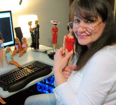 Featured Collector Deb Nickrand & her vintage Barbie dolls