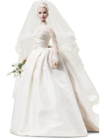 Grace Kelly Silkstone Bride Doll