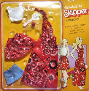 Growing Up Skipper Fashion #9023