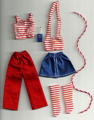 Growing Up Skipper Fashion #9021