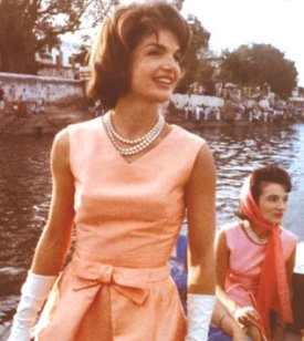 Jackie Kennedy in Belle Dress