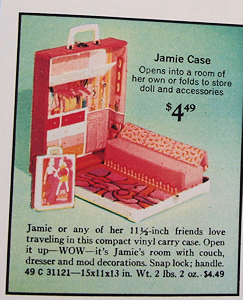 Jamie Doll Case Ad