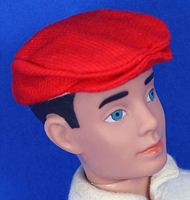 Vintage Ken Casuals Red Cap