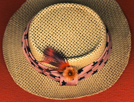 Vintage Ken Dreamboat Straw Hat in Mint Condition