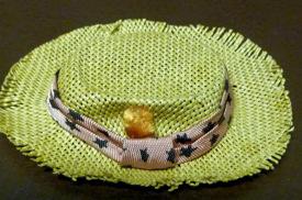Vintage Ken Dreamboat Straw Hat with wear